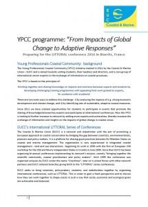 YPCC programme 2016